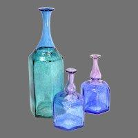 3 Kosta Boda ANTIKVA Vases by Bertil Vallien