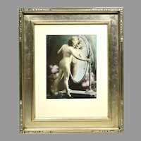 Art Deco Nude Boudoir Photograph