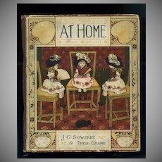 c.1881 At Home, J. Sowerby & Thomas Crane, Wonderful Childhood Artwork