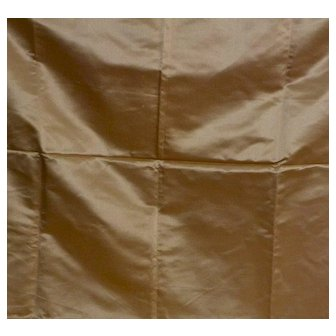 """Antique Skinner Satin Fabric for Doll Clothing 36"""" w x 54"""" long"""