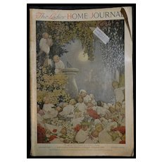 1917 Land of Nod, Susan B. Pearse, Christmas, Harrison Cady, Betty Bonnet, Color Ads, LHJ Complete