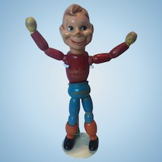 12 in. Howdy Doody Composition & Wood Doll by Cameo