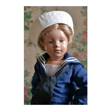 """14"""" Schoenhut Boy Sailor ♥"""