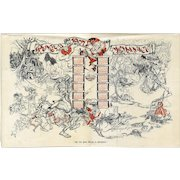 1907 Arthur Rackham Illustrated Punch Almanac Fairytale Calendar