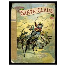 1881 Santa Claus Around the World Book, Illus. by Richard Andre