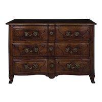 18th Century Regencé Period Walnut Commode Chest of Drawers circa 1730-50