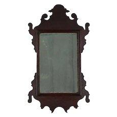 18th Century American Miniature Mahogany Dressing Mirror
