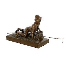 Austrian Antique Bronze Sculpture by Berndorf Foundry c. 1900-15