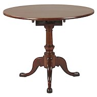 American Queen Anne Antique Tea Table, Southern, North Carolina c. 1750-80