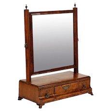 English Queen Anne Dressing Mirror, 18th Century
