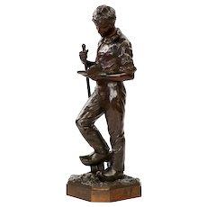 Francois Hippolyte Peyrol Antique French Bronze Sculpture