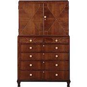 Heal & Son Art Deco Rosewood Chiffonier Dresser c. 1930