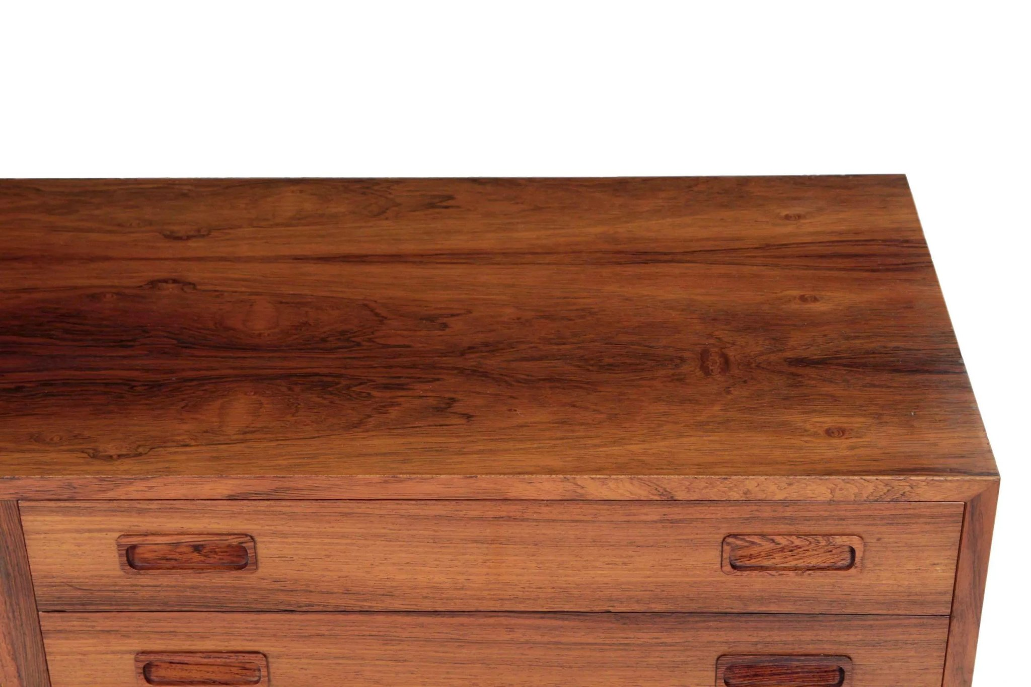 Vintage Danish Credenza : Vintage danish mid century credenza chest of drawers by poul