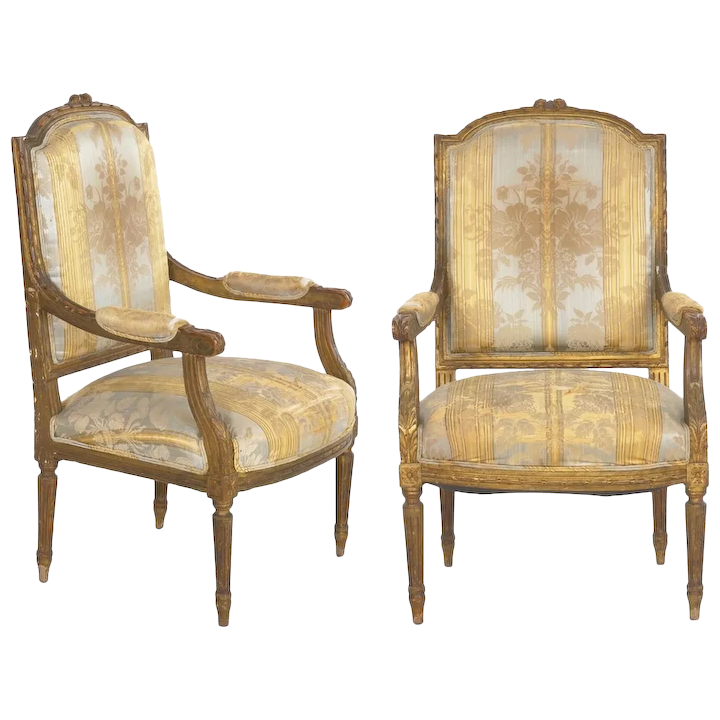 Pair Of French Louis Xvi Style Antique