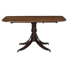 Antique Regency Period Mahogany And Coromandel Breakfast Table, Circa 1820
