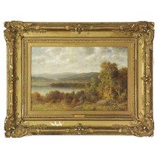 Thomas B. Griffin (American, 1858-1918) Antique Oil Landscape Painting