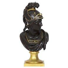 19th Century Grand Tour Antique Bronze Sculpture of Mercury