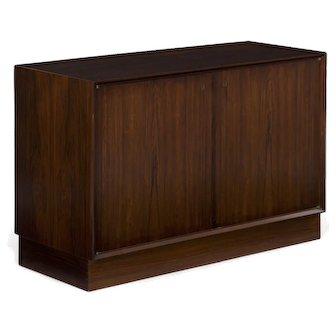 Danish Mid Century Modern Rosewood Cabinet Console