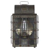 National Marine Lamp Co. Bulkhead Lantern, Early 20th Century
