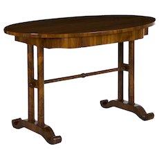 Austrian Biedermeier Antique Writing Table Desk circa 19th Century