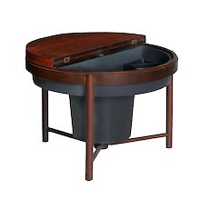 Vintage Mid-Century Modern Rosewood Bar Accent Table by Relling & Rastad, Norway