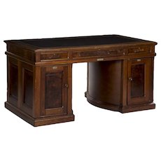 Circa 1880s Wooton's Patent Antique Rotary Writing Desk