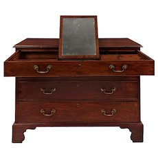 George III Mahogany Antique Chest of Drawers, England circa 1800