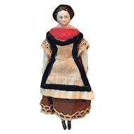 Lovely Early China Dollhouse Doll