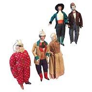 Five Early Pfeiffer Figures