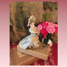 Lovely and Rare walking Mechanical Toy,  Fashion Doll