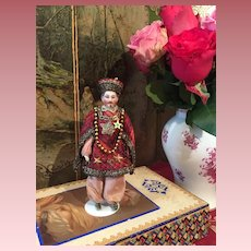 Extremely Rare Chinese Dollhouse Doll
