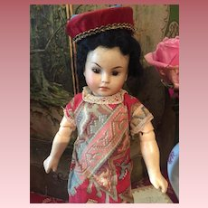 Asian Child Character Doll 220 by Beahr & Proshild