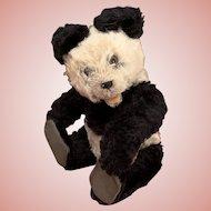 Original Steiff Panda Teddy Bear from the 50's