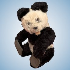 Original Steiff Panda Teddy Bear from the 50's