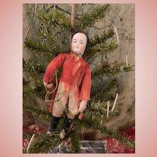 German Dresden Spun Cotton Christmas Ornament