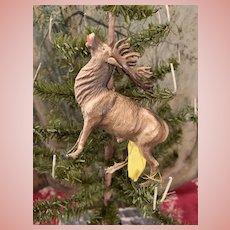 Original Dresden Reindeer Christmas Ornament