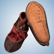 Rare Jumeau Shoes for Fashion Lady Dolls