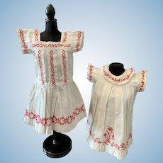 Two Original Dresses For Bebe's
