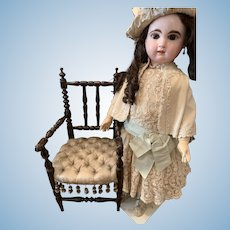 Rare French Armchair for Dolls