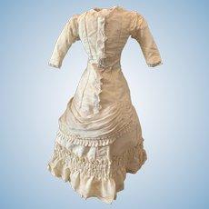 Beautiful Original French Fashion Doll Dress