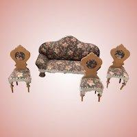 Dollhouse Sofa plus Chairs