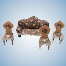 Dollhouse Sofa plus Chairs