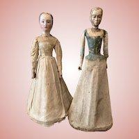 Two 18th century Dolls