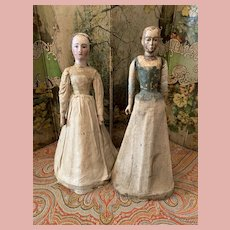 *Final Sale* Two 18th century Dolls