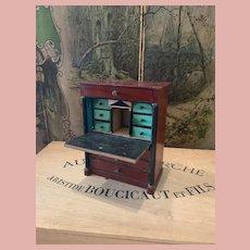 *Final Sale* Early Wooden Secretary by Kestner Waltershausen