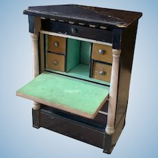 Early Dollhouse Secretary by Kestner Waltershausen
