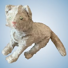 Rare Early 6 Jointed Steiff Cat