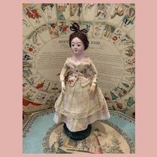 Extremely Rare Early Carton Moule Doll
