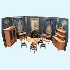 Wonderful Luxury Complete Dollhouse/Room