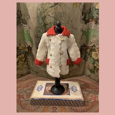 Wonderful Original Wool Jacket for Character Dolls
